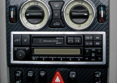 Zierrahmen Radio