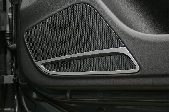 2 Zierrahmen Lautsprecher vorne Carbrio+Coupe