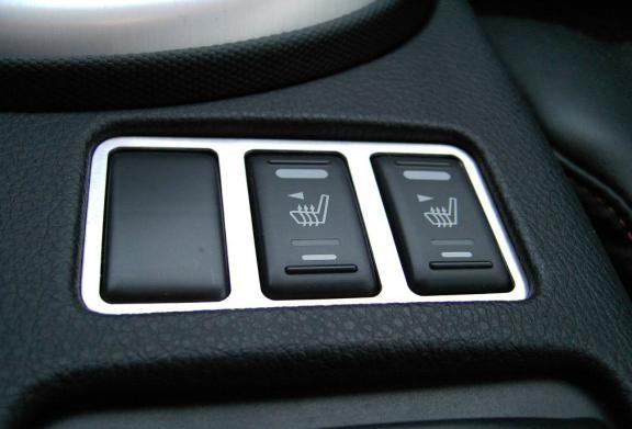 1 Zierrahmen Schalterleiste Sitzheizung Facelift