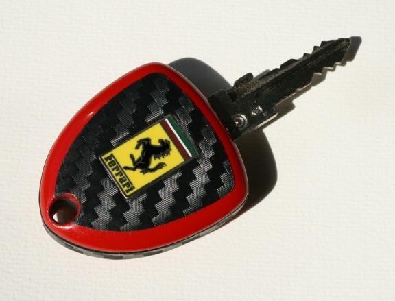 F599-002 Cabonoptik Schlüssel Ferrari F599