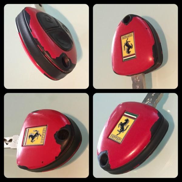 """F599-001 Schlüssel """"Renovierung"""" Ferrari F599"""