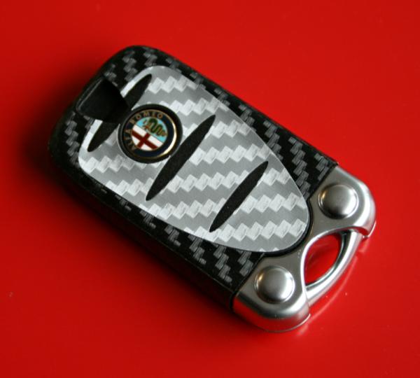 003 Cabonoptik Alfa Romeo Silber-schwarz