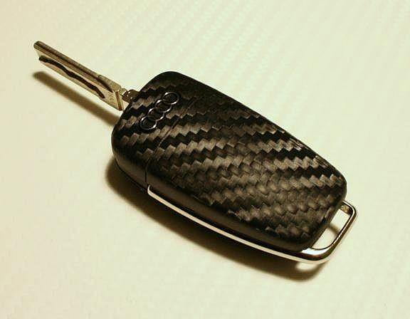 Beschichtung Carbonoptik Klappschlüssel