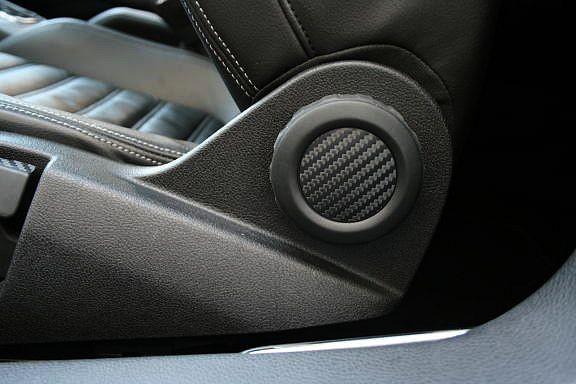 Carbondekor Sitzrückenverstellung
