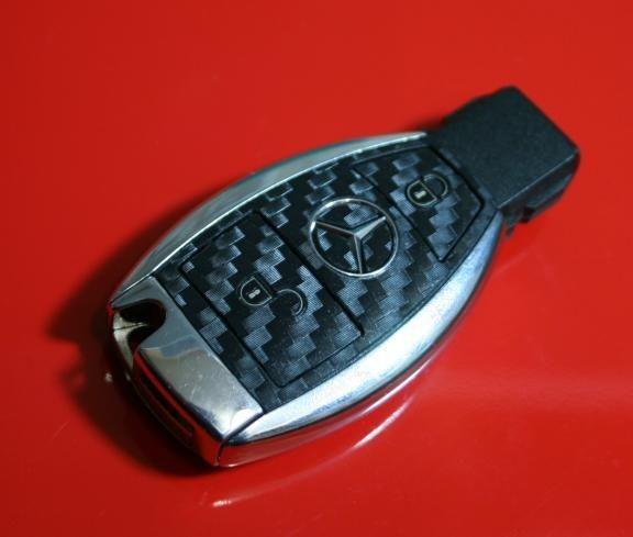 FB MB 007 Cabonoptik Mercedes 2 Button