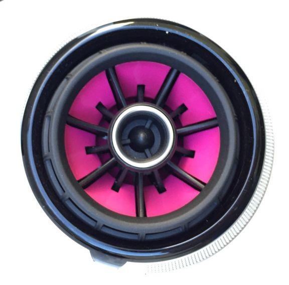 Beklebeset Pink für die Lüfterdüsen in RS LOOK
