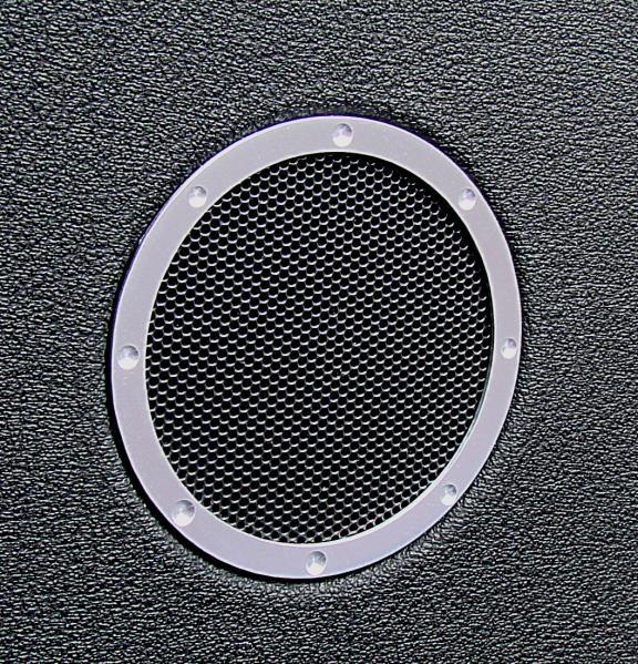2 Zierringe Hochttöner im TT Design