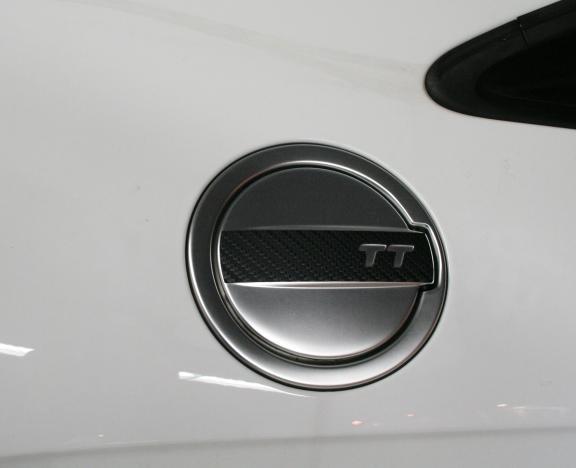 Carbonbeschichtung Tankdeckel außen