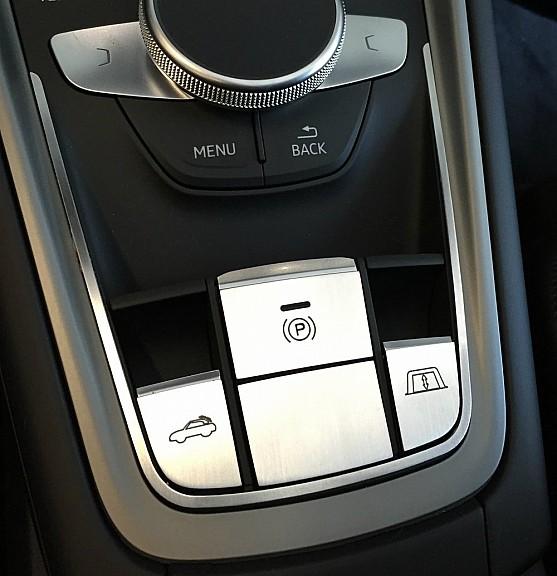 Zierblende Schalter Mittelkonsole 5 teilig Cabrio