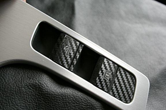 Carbondekor Schalterleiste Cabrio
